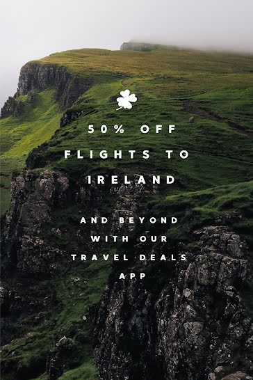 Flights to Ireland - St. Patrick's Day template