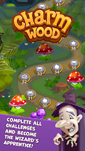 Charmwood - Magical Match 3- screenshot thumbnail