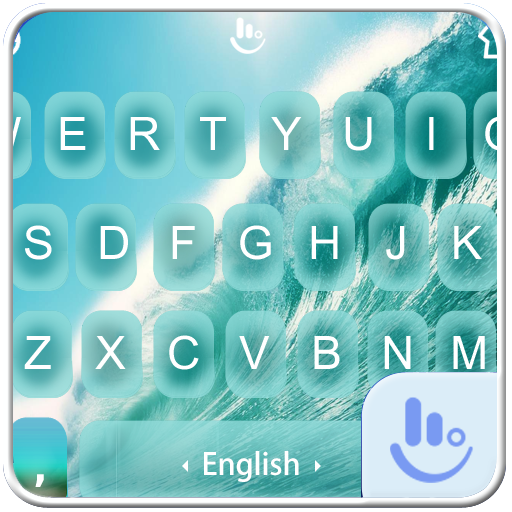 Water Wave Keyboard  Theme