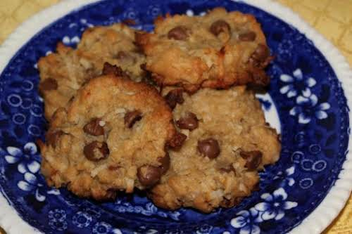 "Coconut Chocolate Chip Cookies ""These are the most delicious cookies I have..."