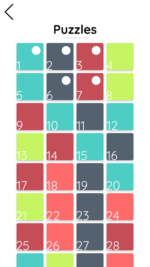 Colori - Relaxing Color Puzzle- screenshot
