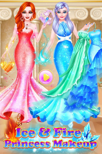 Ice VS Fire Princess Makeup 1.0.2192 screenshots 13
