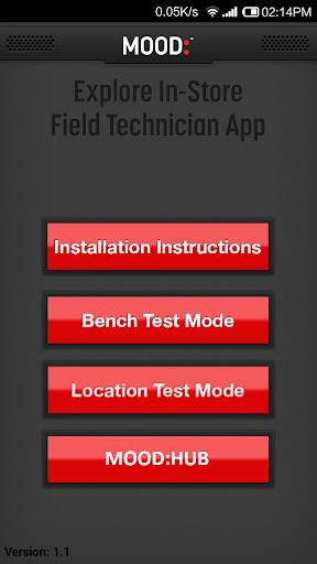 Mood Presence Field Tech App