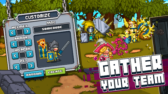 Game Bit Heroes: An 8-Bit Pixel RPG Quest APK for Windows Phone