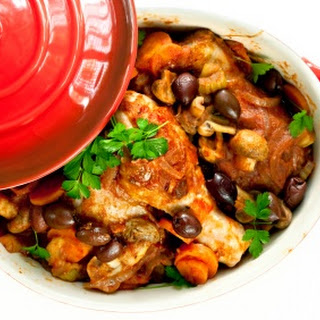 Chicken Tagine with Olives and Lemons Recipe