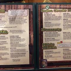 Wow, my own fold open menu of 100% gluten free options!