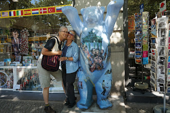 Photo: Karin, Vickie, and a Berlin Bear