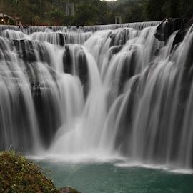 Shifen waterfall, Taiwan  by Shabaz Ahmed - Nature Up Close Water ( shifen, taiwan, taipei )