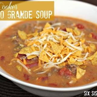 Slow Cooker Nacho Grande Soup.