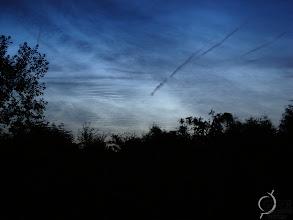 Photo: Noctulicent clouds in Belgium during summer 2010