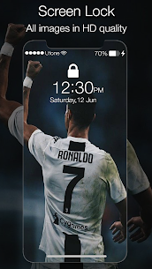 Cristiano Ronaldo Lock Screen Juventus 1.0 Mod Android Updated 3