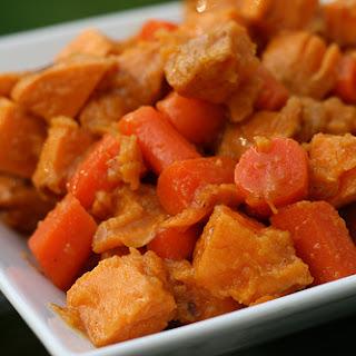 Sweet Potato and Carrot Salad.