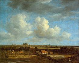Foto: Jacob Isaacksz. van Ruisdael (Haarlem, circa 1628 - Amsterdam of Haarlem, 14 maart 1682) was een Nederlands kunstschilder van landschappen en marines.