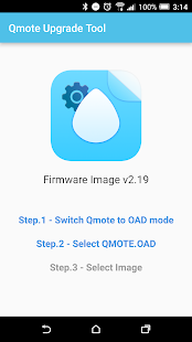 Qmote Upgrade Tool- screenshot thumbnail