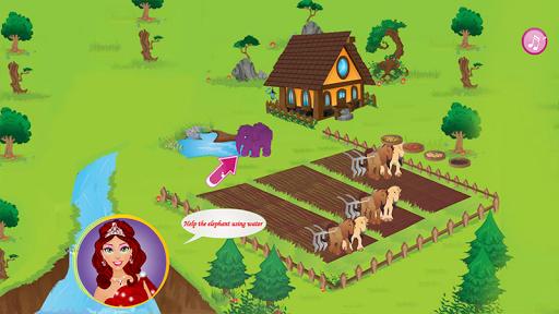 王女の農家