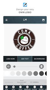 Logo-Hersteller - Por Logo-Schöpfer Screenshot