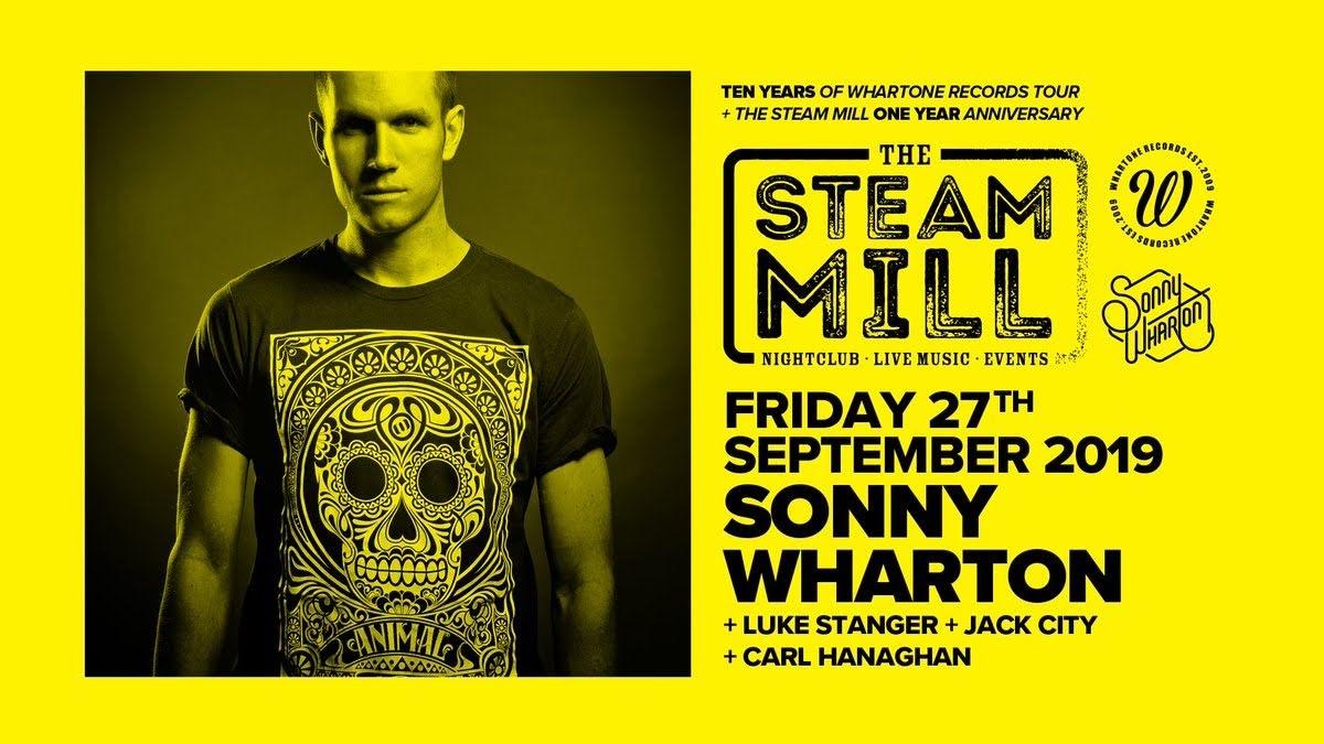 Sonny Wharton returns for Steam Mill celebration