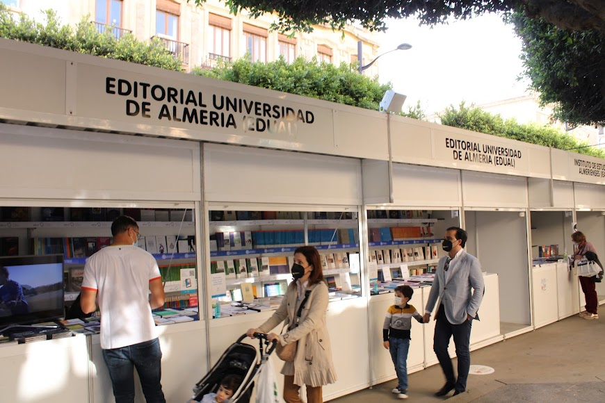 Stand de la Editorial Universidad de Almería.