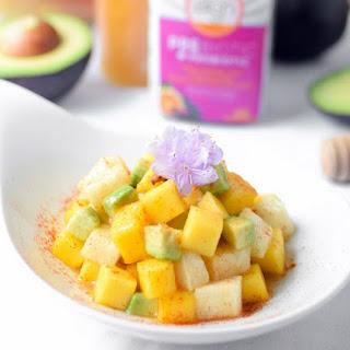 Mango Jicama Prebiotic Salad.