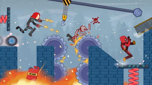 Stick Destruction - Battle of Ragdoll Warriors apktreat screenshots 2