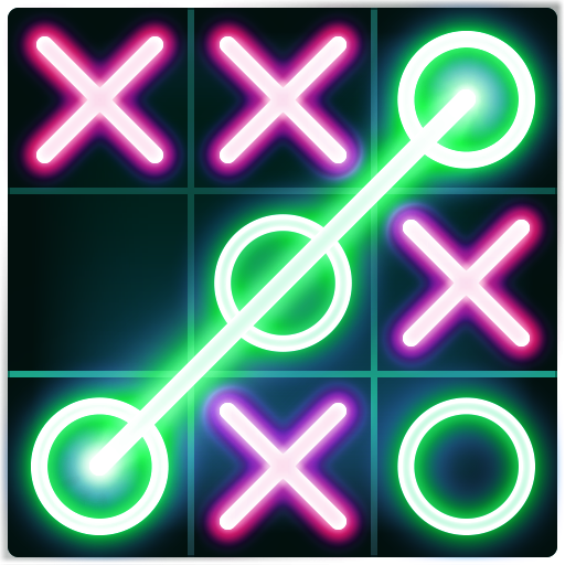 Tic Tac Toe glow - Free Puzzle Game (game)