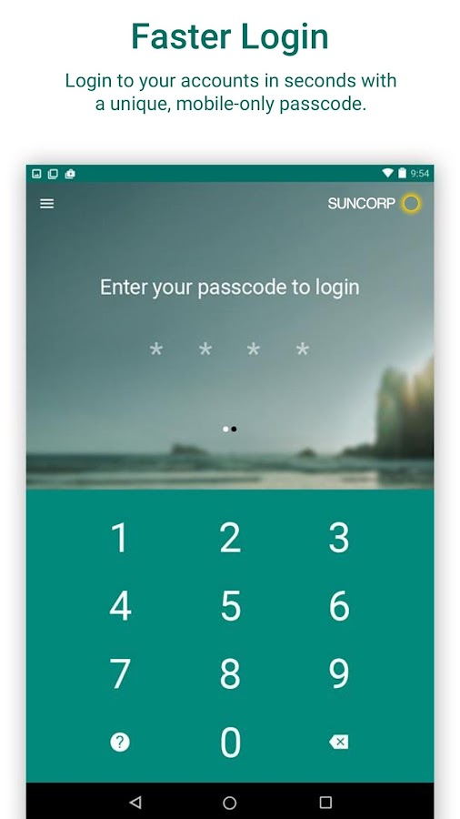 Suncorp Bank- screenshot