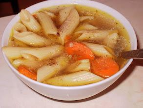 Photo: Rosół z grubym makaronem (11)