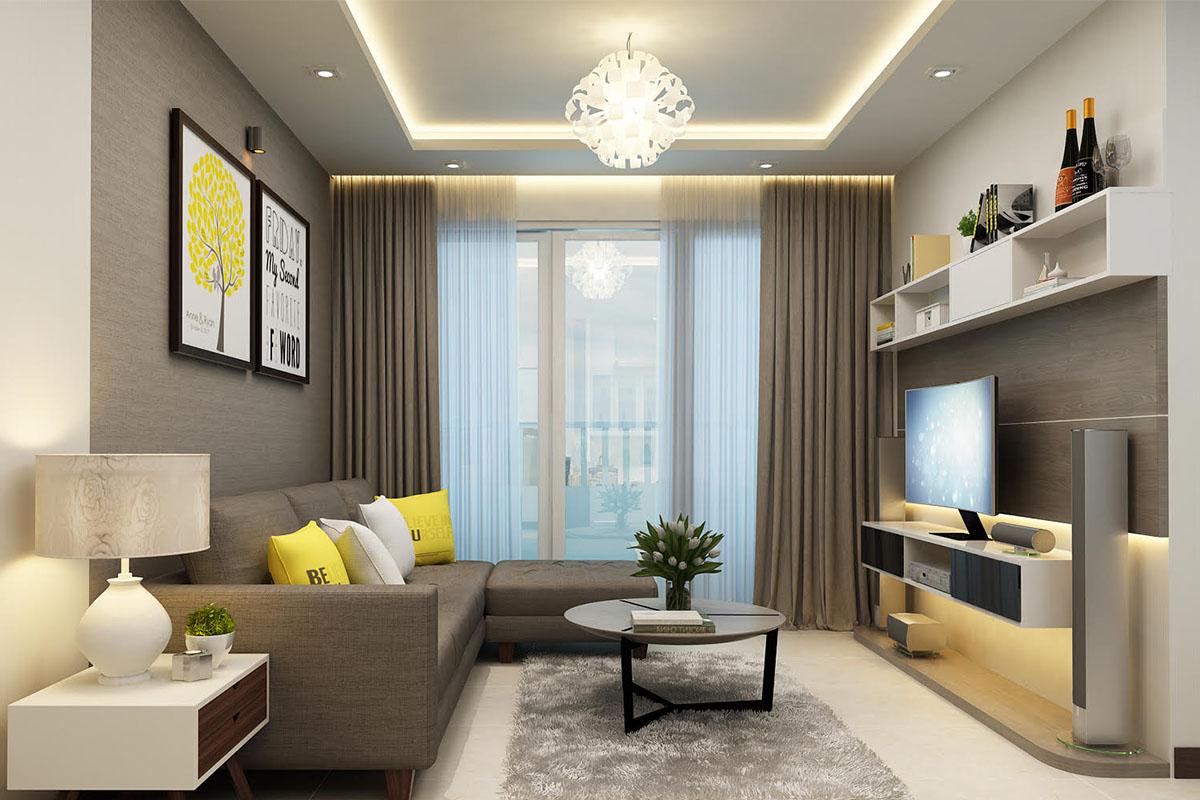Cần chú ý cách sắp xếp và kích thước của đồ vật trong phòng khách