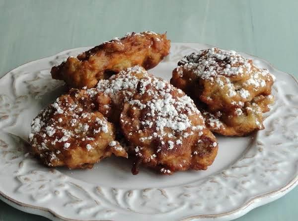 Sweet Eggplant Fritters Recipe