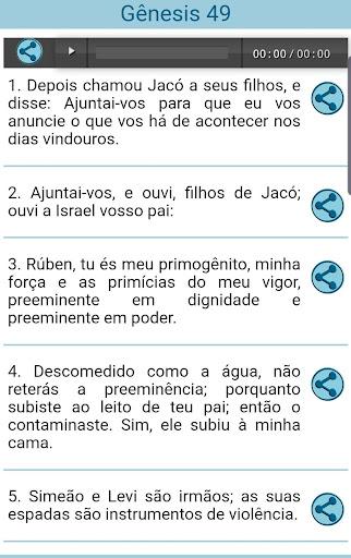 audio bible offline portuguese screenshot 3