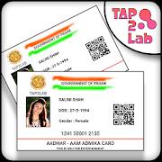 Fake Aadhar Card Prank