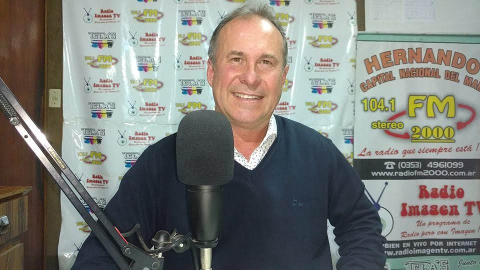 GUSTAVO BOTTASSO PASÓ POR LOS ESTUDIOS DE LA FM2000 Y RENOVÓ EL AGRADECIMIENTO A TODOS LOS QUE PARTICIPARON DE LAS ELECCIONES AYER DOMINGO