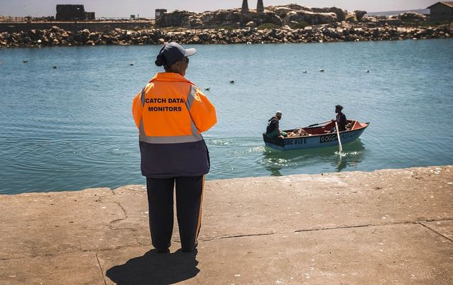 Lamberts Bay, on the west coast, is home to small-scale fishers. The Abalobi app will allow these artisanal fishers to share information about their catches.  Picture: DAVID HARRISON
