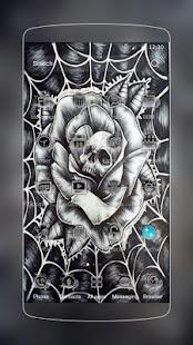 lebka web Tattoo - náhled