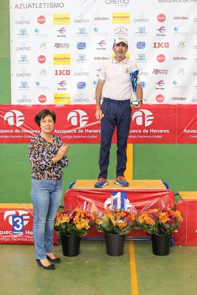 Campeón de la carrera de Azuqueca.