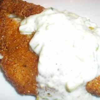 Cornmeal-Crusted Catfish with Cajun Seasoning and Spicy Tartar Sauce
