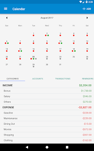 Bluecoins- Finance, Budget, Money, Expense Tracker Screenshot