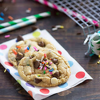 Cake Batter Cookies.