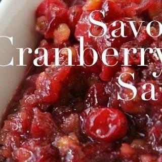 Savory Cranberry Sauce