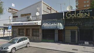 El local donde ocurrieron los hechos en una imagen de Google Street View.