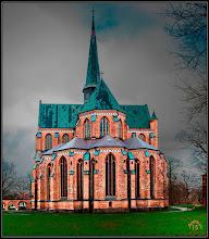 Photo: Im Jahre 1296 waren der Rohbau und das Dachwerk des gotischen Münsters in Doberan fertiggestellt.