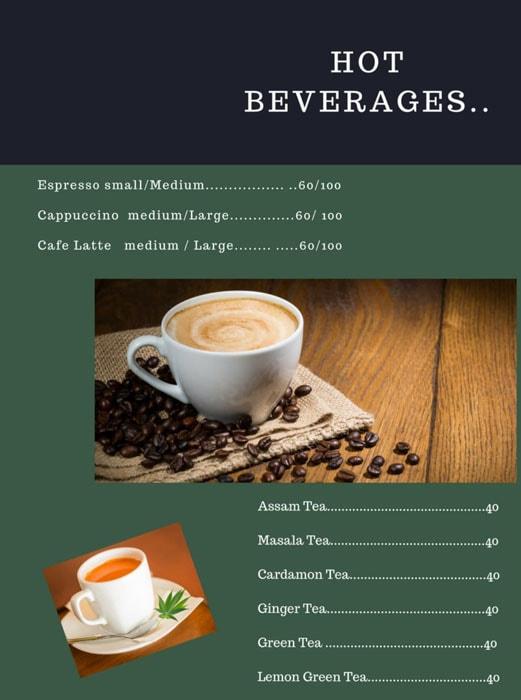 My Cafe menu 3