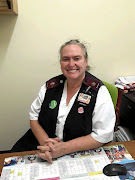Tracey Morris, nursing manager in the Covid-19 ward at Groote Schuur Hospital in Cape Town.