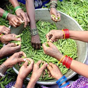TEAM WORK by Debashis Mukherjee - People Street & Candids ( world_is_green )