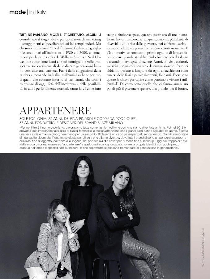 Marie Claire Italia- screenshot