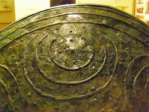 Photo: Apollonia Museum - Illyrian shield 4th century BC