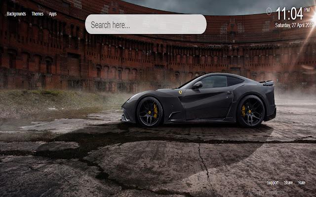 Ferrari Sports Cars HD Wallpaper New Tab