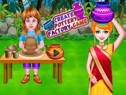 Tải Tạo đồ gốm nhà máy Trò chơi cho con gái APK