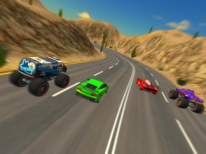 Crazy Car Vs Monster Racing Android Apps On Google Play