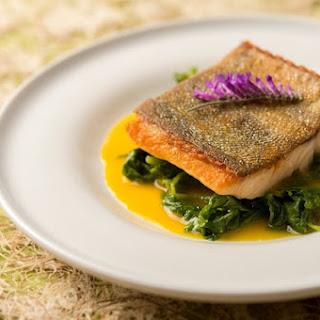Trout with Orange-Saffron Sauce Recipe